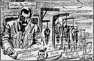 Stalin the terrible στον Τύπο του Χερστ