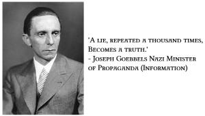 Joseph Göbbelss - Υπουργός Προπαγάνδας των Ναζί