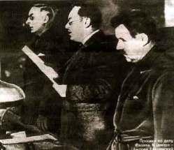 1937. Ο εισαγγελέας Βισίνσκι απαγγέλλει το κατηγορητήριο