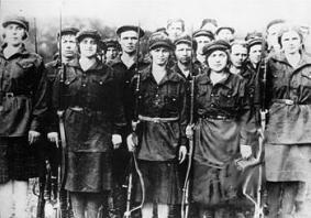Γυναίκες του Κόκκινου Στρατού